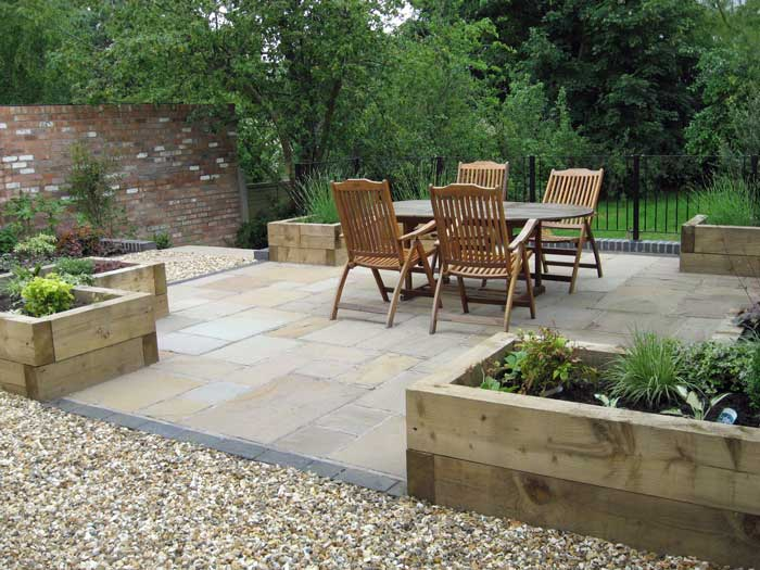 Large North Facing Garden For Growing Fruit And